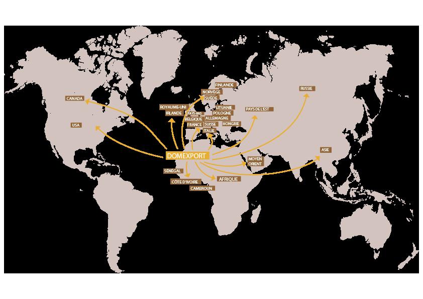 export les domaines agricoles