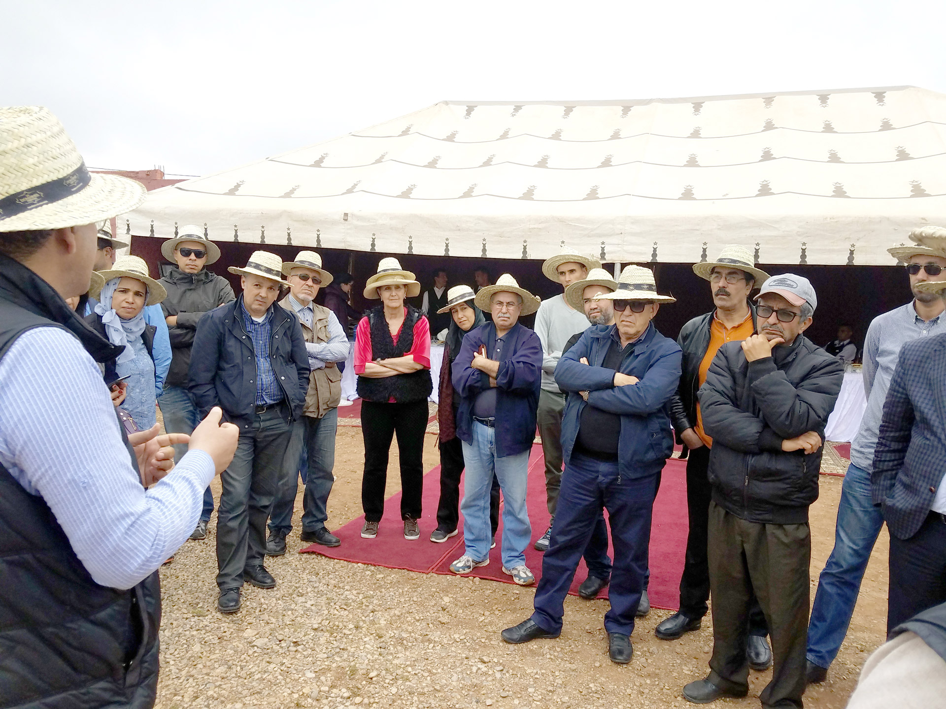 Big hit for the Organic-Farming Day of Beni Mellal