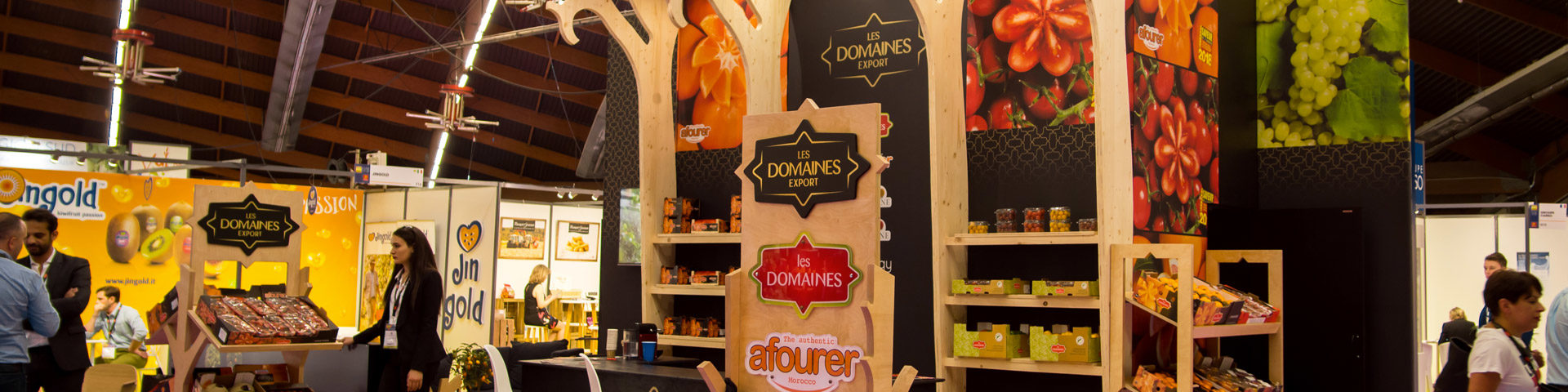 Les Domaines Agricoles, attending the major trade fairs