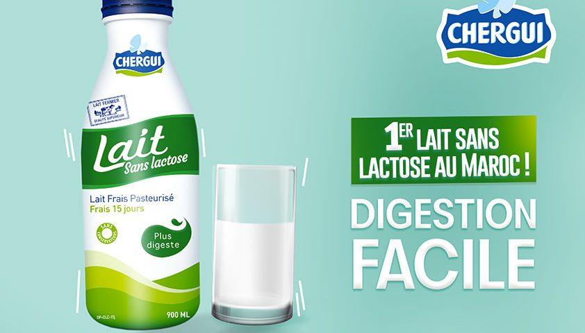 CHERGUI lance le 1er lait sans lactose au Maroc