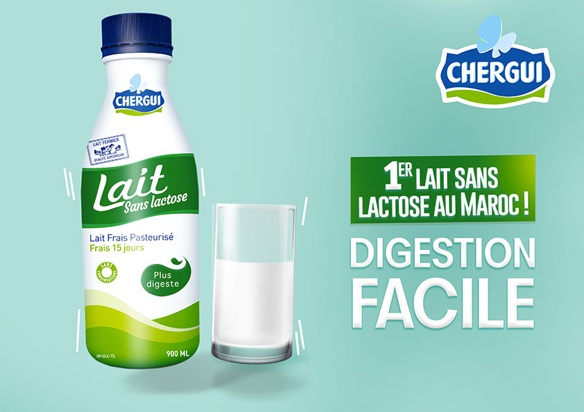 CHERGUI, the first dairy to launch lactose-free milk in Morocco